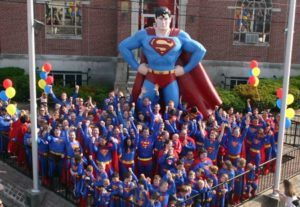 Metropolis, IL is home to the annual Superman Celebration.
