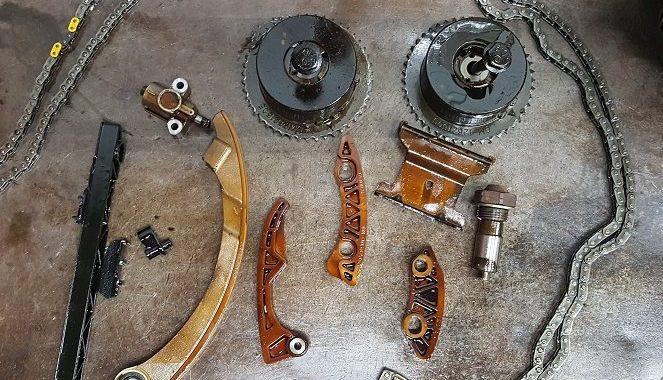 Broken timing chain | Auto Lab Libertyville IL